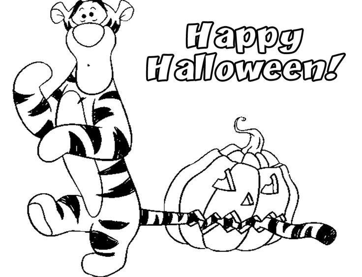 Ausgezeichnet Kostenlose Disney Halloween Malvorlagen Fotos - Ideen ...