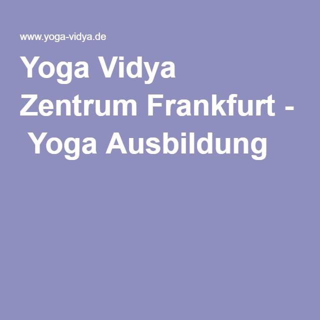 Yoga Vidya Zentrum Frankfurt - Yoga Ausbildung