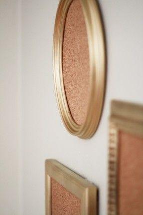 cork board framed boards picture frame diy for walls large wood
