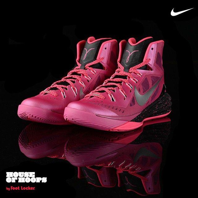 super popular 370b5 e68d5 ... cheap pink sample on ebay sneakernews nike hyperdunk 2014 kay yow .  a1153 32c65