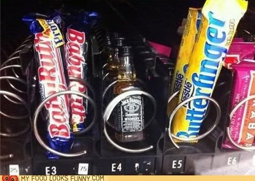 My office needs this vending machine!: Afternoon Snacks, Vending Machine, Jack Daniel, Break Rooms, Chocolates Bar, Funny Stuff, The Offices, Law Schools, Funny Memes