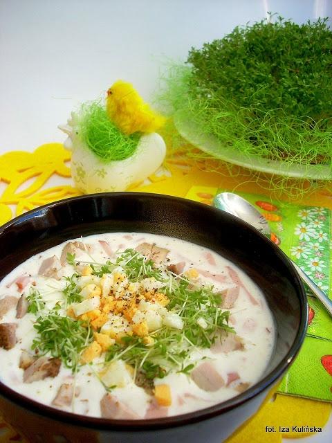 Smaczna Pyza: Święcelina, święconka vel sodra - http://smacznapyza.blogspot.com/2012/04/swiecelina-swieconka-vel-sodra.html#