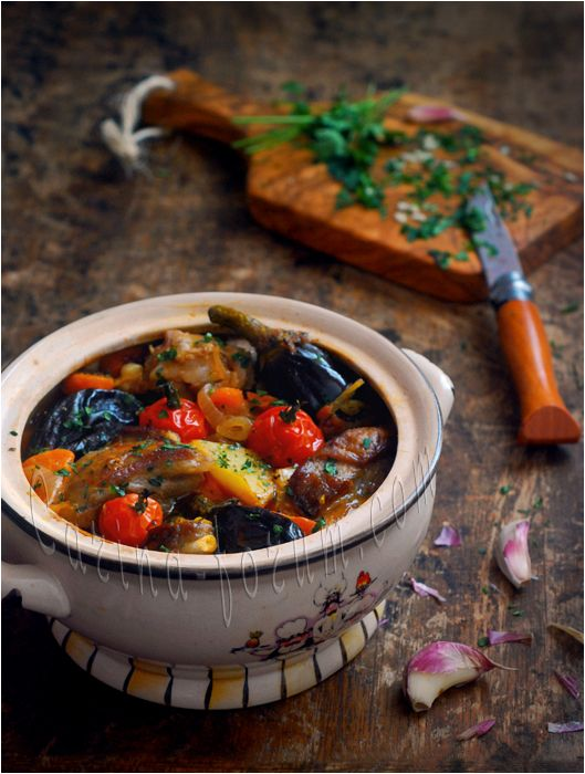 Chanakhi | #Georgian Lamb Stew with Eggplants, Tomatoes & Potatoes | Delicious & nutritious!