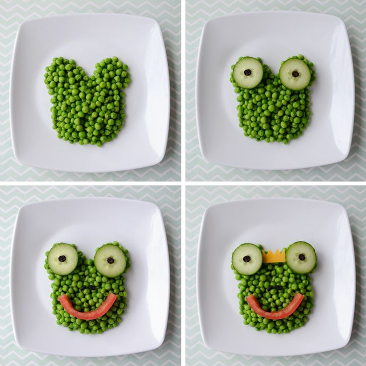 Frog prince snack   Food art for kids. HEALTHY FOOD FOR HEALTHY KIDS