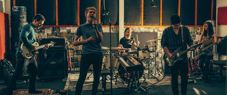 band rehearsal room setup - Google Search