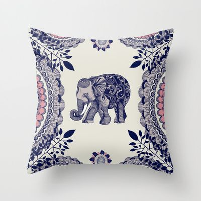 Buy Elephant Pink by Rskinner1122 as a high quality Throw Pillow. Worldwide shipping available at Society6.com. Just one of millions of products available.