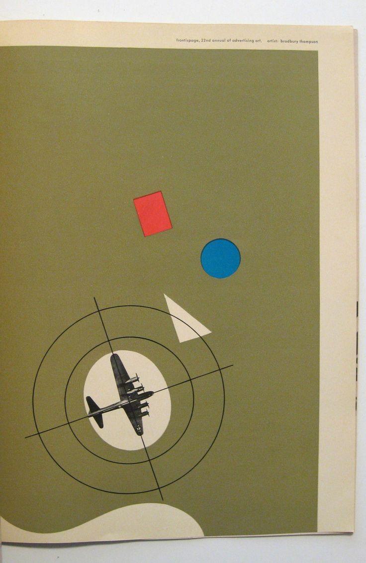 1944 Westvaco Modern Graphic Design Bradbury Thompson Herbert Matter Paul Rand