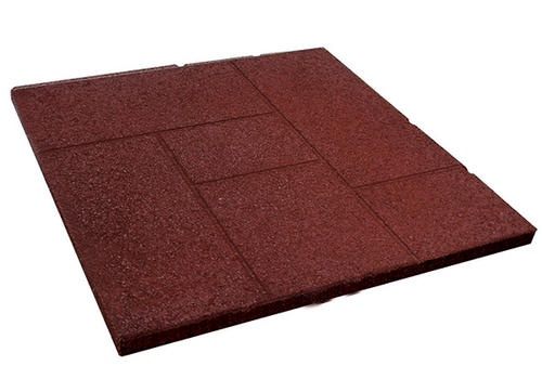 24 Quot Red Rubber Pavers From Menards Diy Outdoors Spaces