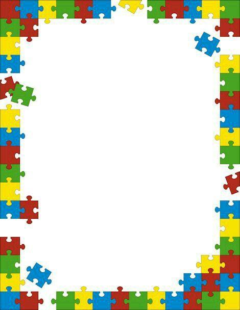 Rompecabezas bordes pinterest rompecabezas fondos - Puzzles decorativos ...