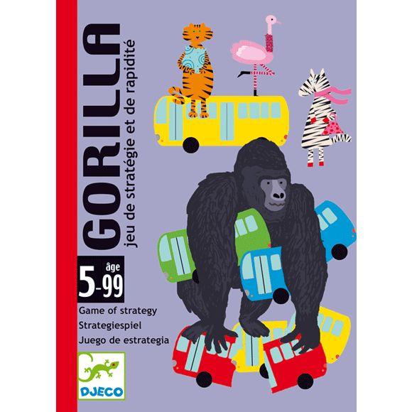 Gorilla -gyorsasági és stratégiai kártyajáték (Djeco)   Pandatanoda.hu Játék webáruház