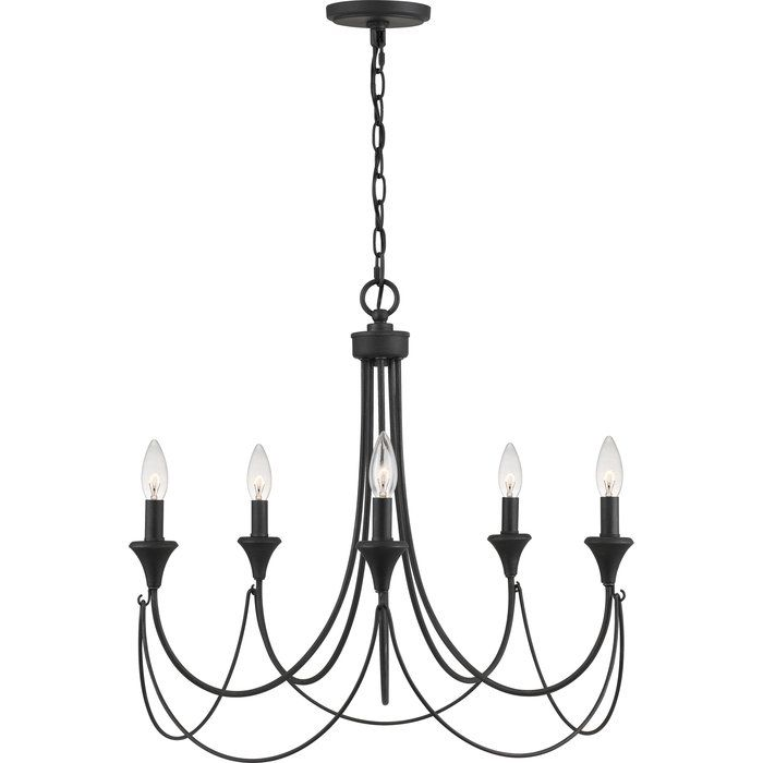Walczak 5 Light Candle Style Classic Traditional Chandelier