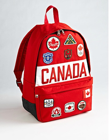 OLYMPIC COLLECTION Unisex Olympic Canada Backpack |