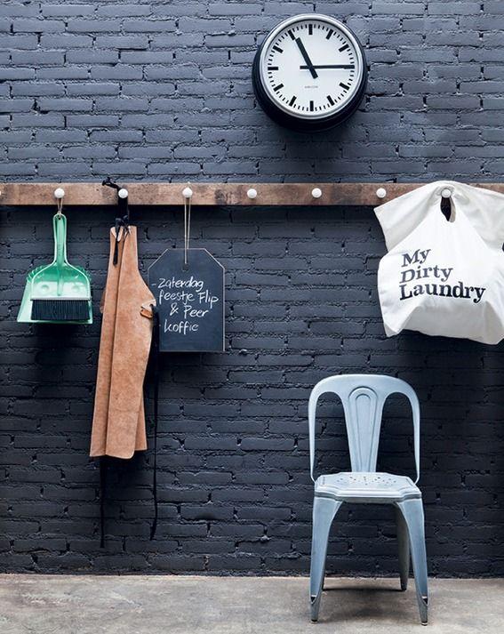 #DIY knob coat rack