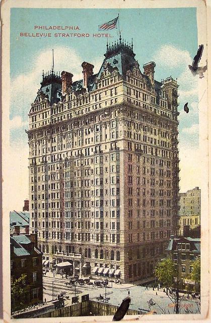 Vintage Postcard - Belleue Stratford Hotel, Philadelphia, Pa by riptheskull, via…