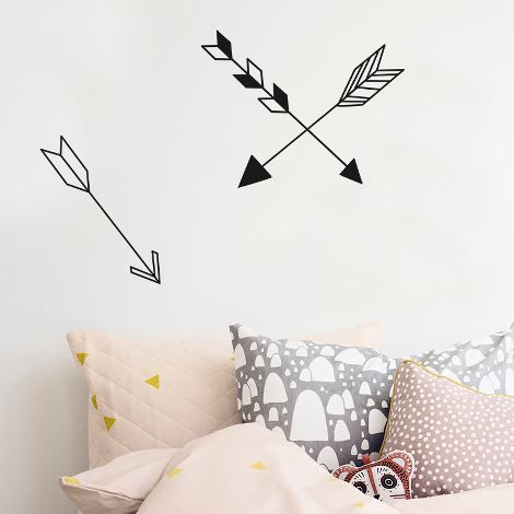 15 DIY pour une décoration ethnique/ Réaliser des flèches en masking tape pour décorer son mur