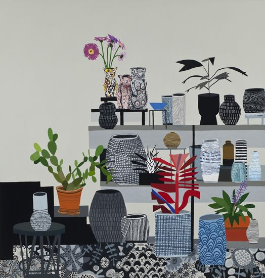 Jonas Wood at David Kordansky Gallery