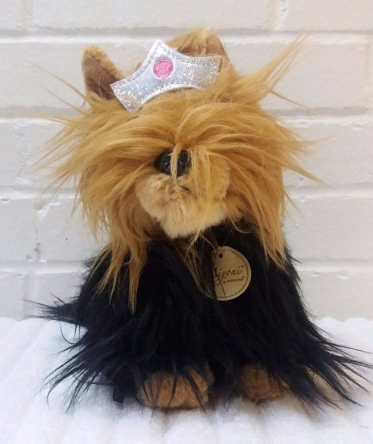 Miyoni by Aurora Yorkie Yorkshire Terrier Puppy Dog Stuffed Animal Plush   (A29) #Aurora
