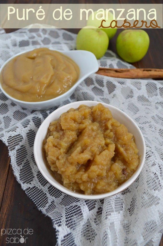 Cómo hacer puré de manzana casero | http://www.pizcadesabor.com/2013/12/26/como-hacer-pure-de-manzana-casero/