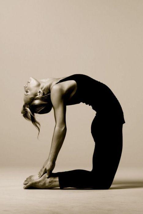 #Yoga Camel Poste - Kamel -Ustrasana