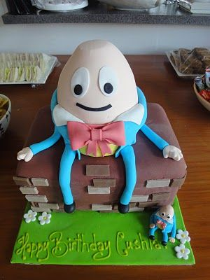 Humpty Dumpty cake: Cakes Ideas, Dumpti Cakes, Amazing Cakes, Cakes Decor, Cakes Cakes, Eating Cakes, Birthday Cakes, Cakes Birthday, Cakes Designs