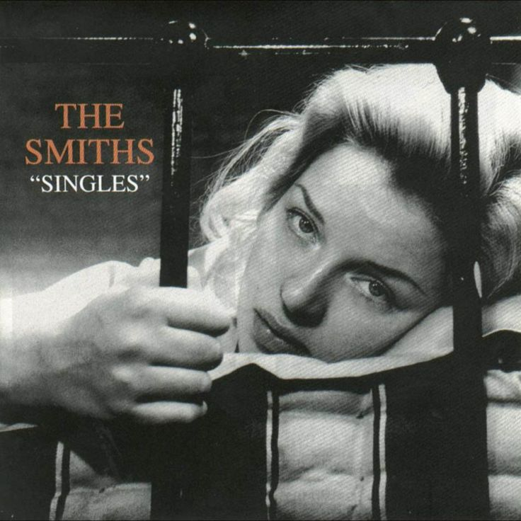 Diana Dors. She is on the cover of The Smiths' 1995 compilation album, Singles.