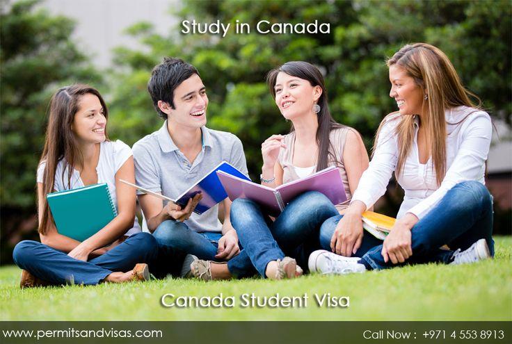 Canada student permits visas by expert genuine visa consultant in Dubai