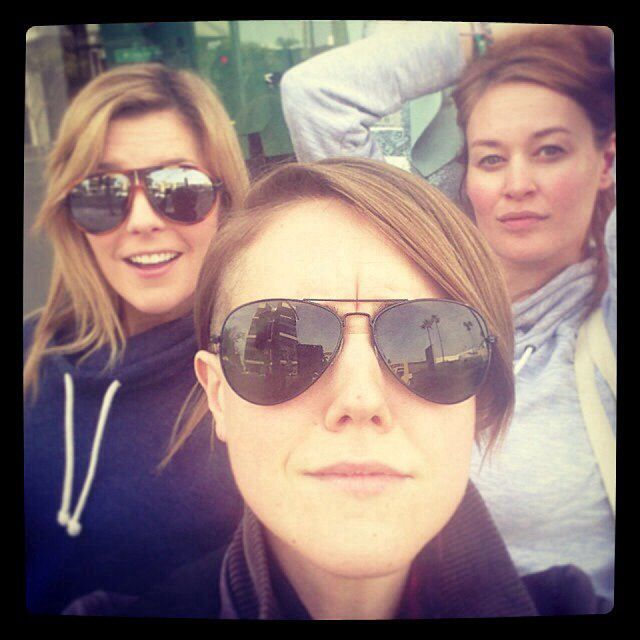 Grace Helbig, Hannah Hart, & Mamrie Hart these are my favourite you tubers! CHECK THEM OUT NOW!!!!