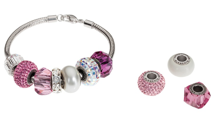 Swarovski's #BeCharmed Enchanted Romance Starter Set. Available at www.KaydeDesigns.com #beads #beadsters #beadsonthego #kaydedesigns