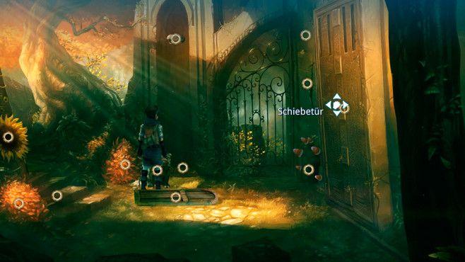 """Silence ©Daedalic-""""Silence"""" ist technisch ganz anders als der Vorgänger, atmosphärisch aber genau so gut. Das Spiel läuft lässiger, vielleicht sind die Rätselelemente hin und wieder zu weit nach hinten gerückt. Aber wer so tolle Figuren entwickelt wie die zauberhafte Raupe Spot und so herzzerreißende Storys schreibt, der macht immer noch (sehr) gute Spiele!"""