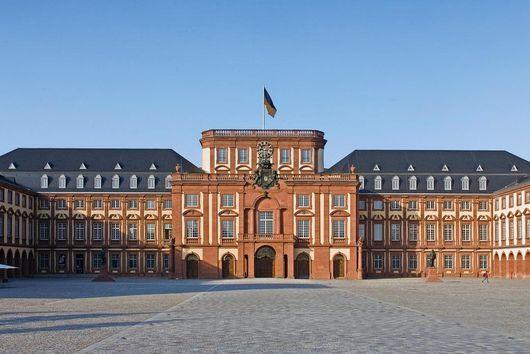 Außenansicht von Schloss Mannheim