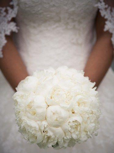 Puur bruidsboeket - Bruidsboeketten