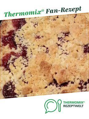 Schneller Kirschstreuselkuchen Variante Des Ruck Zuck