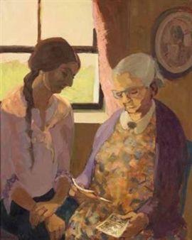 RACHEL EN OU NOOI WITH A LETTER FROM BREYTEN By Marjorie Wallace