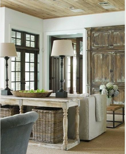 Love the set up and antique feel.