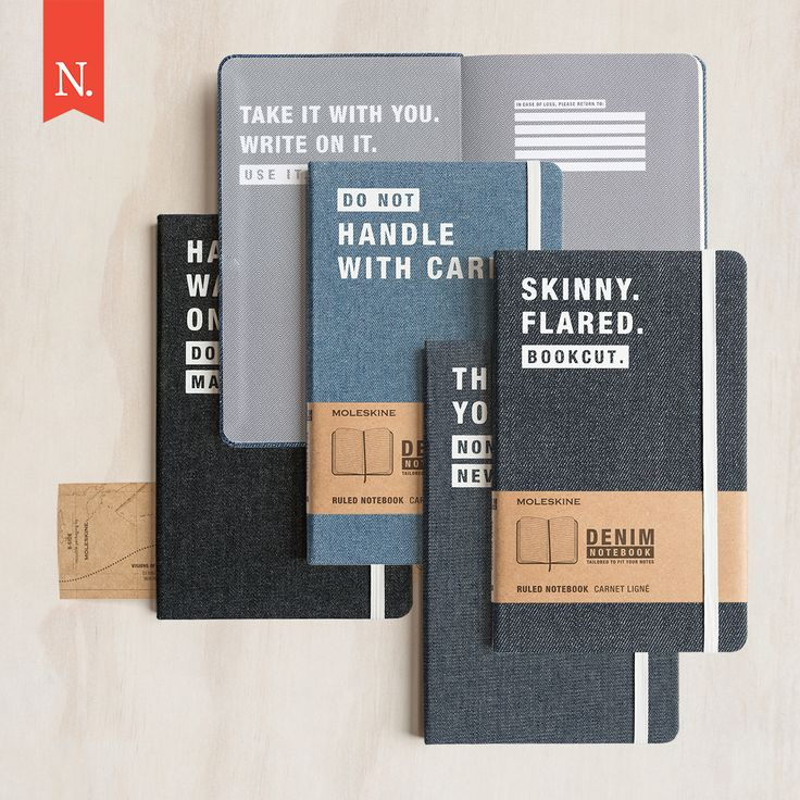 Love denim? Did you know the history of denim is one of exploration and discovery tracing back to the 19th century? Moleskine have created a Denim collection celebrating the shared values of exploration, free-spirited creativity and self-expression.