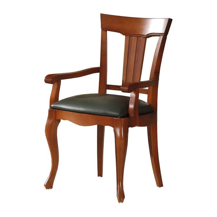 silla-de-comedor-clasica-con-re posabrazos-color-cerezo.jpg (3000×3000)