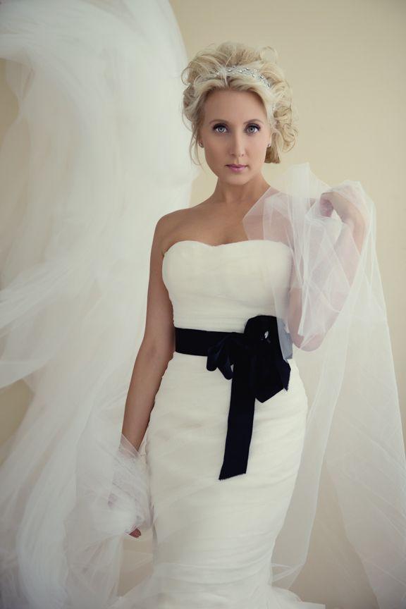 Soft bridal up style with headband,natural bridal make up. Glam the dress portrait shoot.  http://www.gmphotographics.com.au/portrait-couture/
