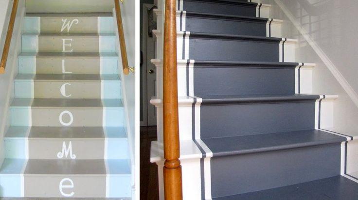 Les 56 meilleures images propos de escalier sur for Peinture sur escalier