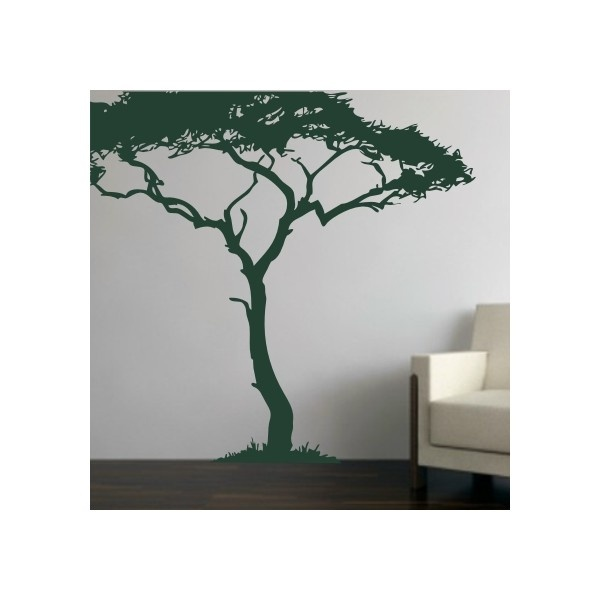 Jungle tree image for nursery mural
