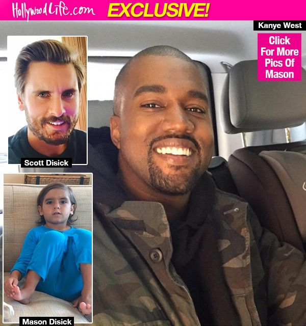 Mason Disick Asks Kanye West If He's His 'New Daddy'