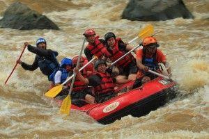 Jogja Java Transport: Serunya Wisata Arung Jeram Progo
