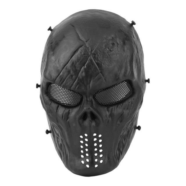 Camouflage Hunting Accessories Masks Phantom Military Tactical Outdoor Wargame CS Paintball Airsoft Skull Party Mask Full Face
