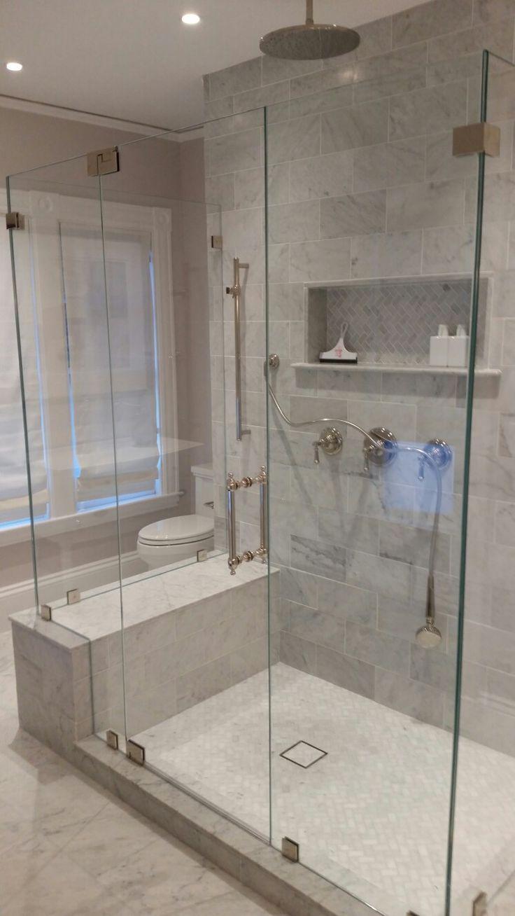 Best 25 frameless shower doors ideas on pinterest glass - Bathroom shower enclosures ideas ...