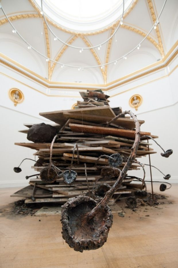 Ages of the World (Die Erdzeitalter), 2014 by Anselm Kiefer at the Royal Academy. Photograph: REX/REX