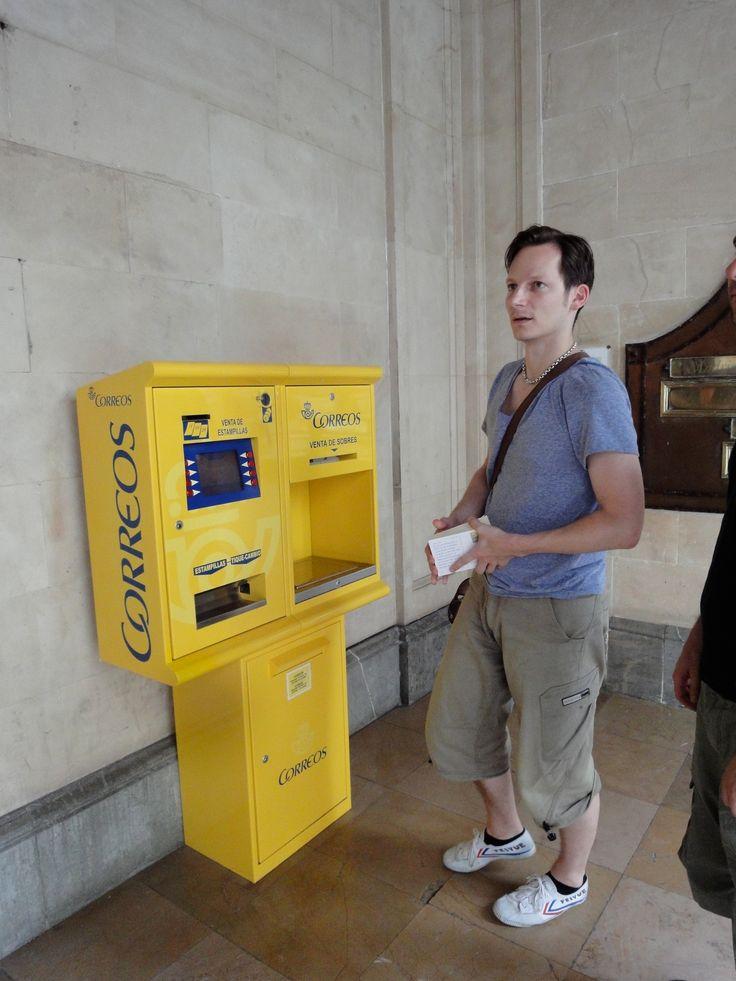 Wieso ist die Post fast überall gelb, hä?