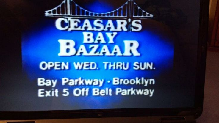 caesars bay bazaar- it replaced korvettes on bay parkway. i miss this store . it provided one stop shopping during the holidays as it had such a wide variety of merchandise.