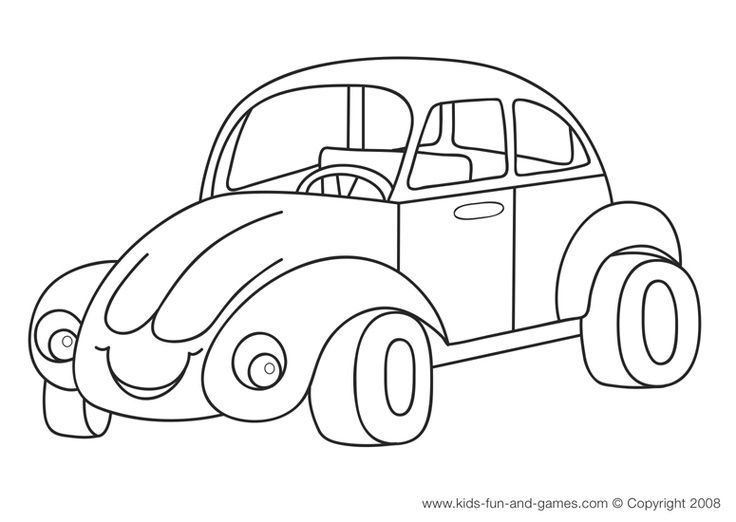 Kids Car Coloring Sheets All Free At Fun And Games