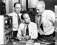 July 5, 1951– William Shockley, John Bardeen, and Walter Brattain announce the invention of the junction transistor