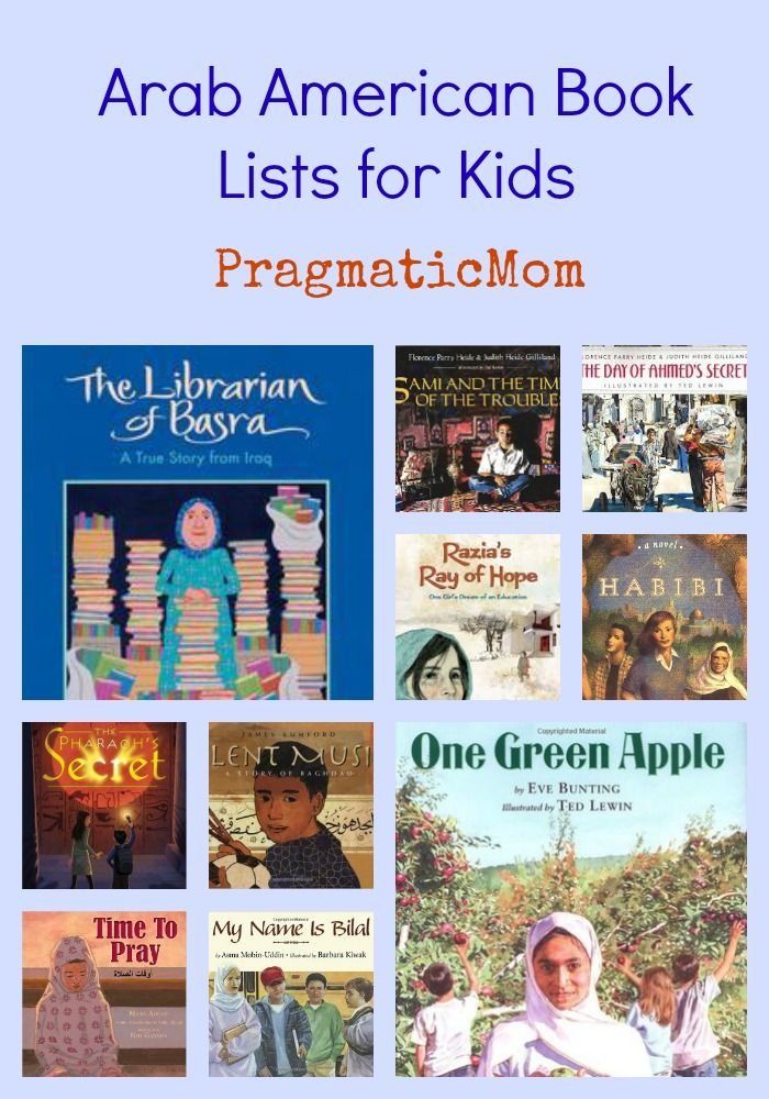 Arab American Book Lists for Kids :: PragmaticMom #KidLit #diversity #MiddleEast…