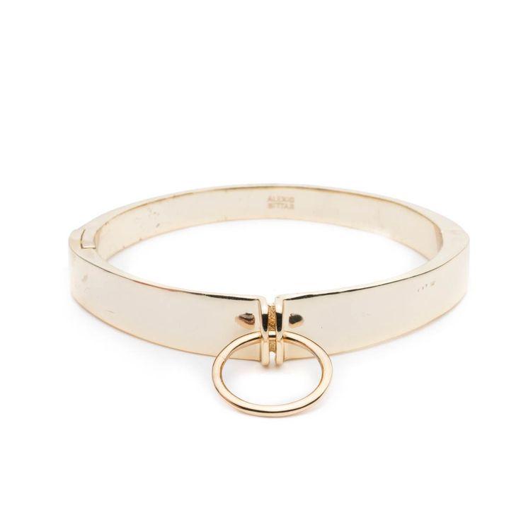 ALEXIS BITTAR Lady O Small Hinge Bracelet. #alexisbittar #